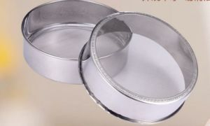 Cheap Price Stainless Steel Flour Sieve (HY-010)