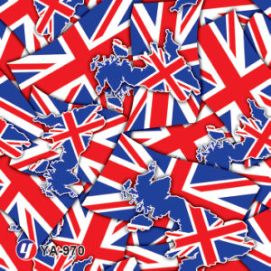 Yingcai British Flag Water Transfer Printing Hydro DIP Film pictures & photos
