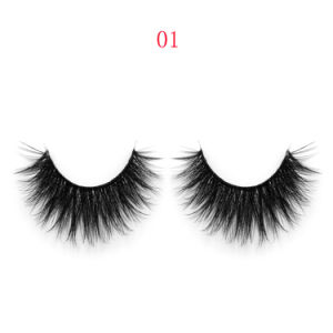 New Products Soft Synthetic 3D Velour False Eyelash