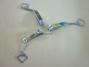 Baby Nail Clipper with Chain and Exposy N-0776CV pictures & photos