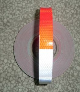 6′′ White and 6′′ Red Reflective Tape for Truck and Car pictures & photos