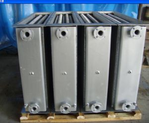 Stainless Steel Water Cooling Condensers Coils and Heat Exchangers with Boat Engine
