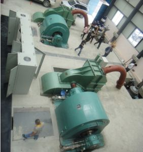 Twin Nozzle Pelton Hydro Turbine Generator pictures & photos