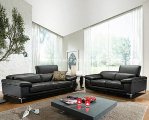 2016 Italian Leather Sofa (Jfs-29)