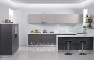 Baked Paint Kitchen Cabinet (M-L96) pictures & photos