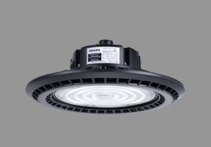 Warehouse Industrial Light Dimmable LED High Bay Lights 200LMW Emergency Function UFO Highbay Light