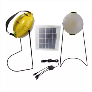 Solar Portable Charge LED Reading Light Hand Lamp pictures & photos