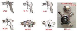Air Spray Gun Anest Iwata Professional Pneumatic Spraying Tools Mini Paint Machine Quality Coating Tools pictures & photos