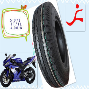 Mrf Brand 4.00-8 Motorcycle Tyre and Tube pictures & photos