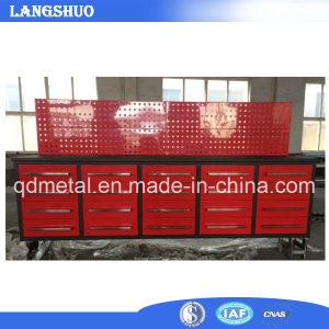 Industrial Waterproof Metal Tool Cabinet, Workbench with Drawers