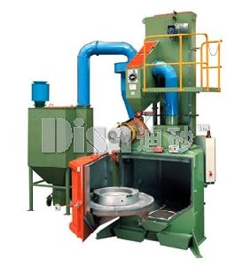 Rotary Table Type Shot Blasting Machine