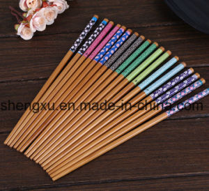 Nice Design Chinese Wood Bamboo 22cm Length Chopsticks Sx-Cc004