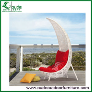 Tremendous Outdoor White Moon Pe Rattan Lounge Chair Yg L1302 Forskolin Free Trial Chair Design Images Forskolin Free Trialorg