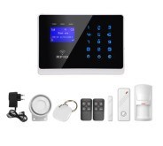 Home Security Wired Intelligent GSM Alarm System pictures & photos