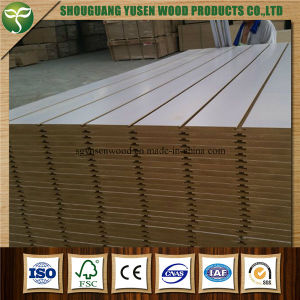 Slat Wood Panel for Store Fitting pictures & photos