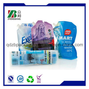 Wholesale Clear Drink Stand up Spout Pouch pictures & photos