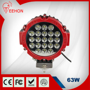 7inch 63W Offroad LED Work Light for Cars pictures & photos