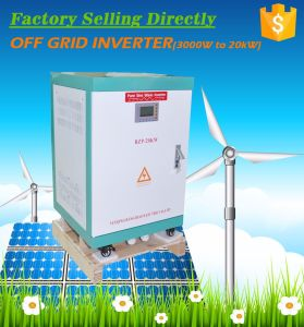 12kw 48VDC-120V/220VAC Two Phase Output off Grid Inverter pictures & photos
