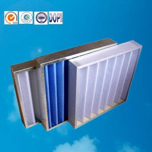 HVAC Pleat Panel Air Filter for Ventilation Systems