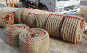 Yellow Jute Rope Packaging Rope pictures & photos