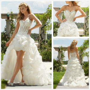 China Short Front And Long Back Wedding Dress Xz364 China Wedding Dress And Dress Wedding Price