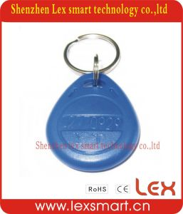 Customised 13.56MHz Plastic Key Ring Labels Tag
