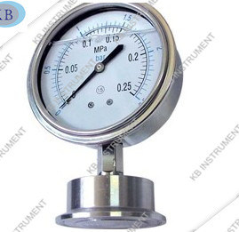 Stainless Steel Sanitary Diaphragm Presure Gauge pictures & photos