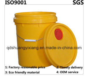 Customized Different Capacity Plastic Pail with Lid and Handle for General Packing