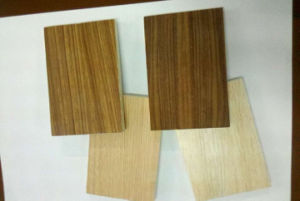Fireproof Moistureproof Sound Absorption Wood Grain UV Coating MGO Board for Building Material