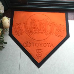 Promotion Giveaways Gifts NBA NFL MLB Mls Sports Teams Brands Fans Baseball Home Plate Basketball Football Rugby Hockey Printed Welcome Entrance Floor Door Mats pictures & photos
