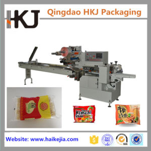 Double Servo Automatic Pillow Type Instant Noodle Packing Machine pictures & photos