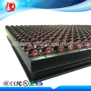 2016 Hot P10 Red Color Outdoor LED Display (P10-1R 32X16) pictures & photos
