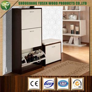Wooden Shoe Cabinet Custom Rack