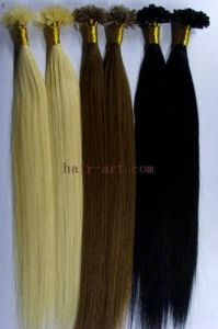 100% Human Hair/ U Tip / Per Bonded Hair Extension