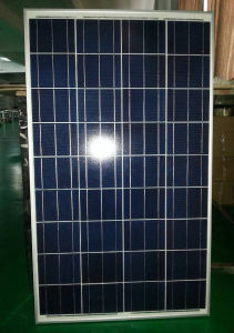 150W Polycrystalline Solar Panel with 156 X 156 Cells