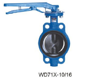 Tht Butterfly Valve Not Lined Gum Environment Protection