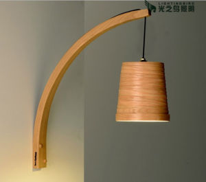 Home Decoration Wooden Wall Light