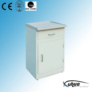 High Quality Hospital Medical ABS Top Steel Bedside Cabinet (K-4) pictures & photos