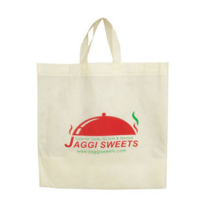 Portable Non-Woven Tote Bag with Customized Color pictures & photos