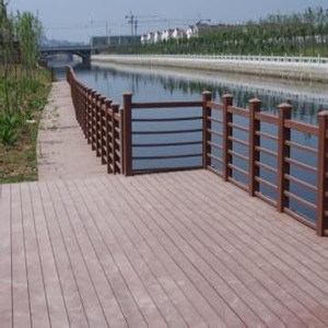 Garden Design Outdoor Waterproof WPC Decking with Low Cost