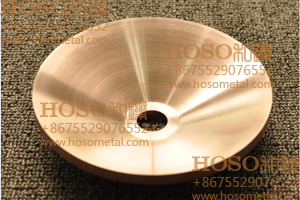 Tungsten Copper, Copper Tungsten Rotary Electrode for PCD Disk Erosion Machining (elkonite) Rwma Class 10, Class 11, Class 12