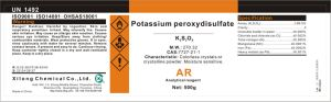 Potassium Peroxydisulfate Supplier in China with Great Quality pictures & photos
