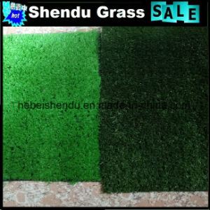 15mm Landscape Grass with Light Green Color pictures & photos