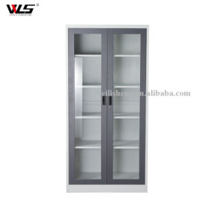 China Morden New Design Metal Glass Door Steel Cabinet File