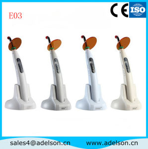 Portable Curing Light with Charger Seat Tester Dental Curing Light