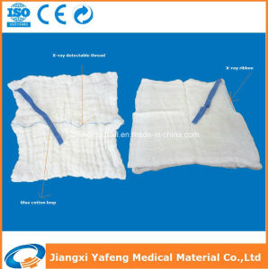Disposable 100% All Natural Cotton Abdominal Pads with X-ray Tapes pictures & photos