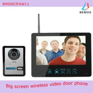 "9"" Color Wireless Video Doorphone with Pictures Record & Motion Detecting pictures & photos"