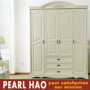 Euro Style Open Door Blister Wardrobe with Drawer pictures & photos