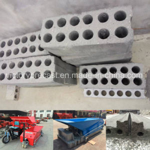 Concrete Hollow Core Wall Panels System for Prestressing House pictures & photos