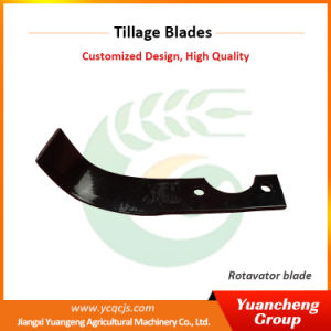 Boron Steel Farm Machinery Parts Complex Paddy Blade